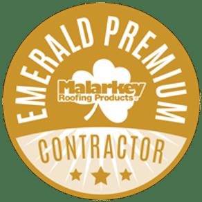 Malarkey Emerald Premium Contractor Button