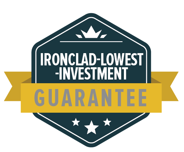 Ironclad-Lowest-Investment Guarantee