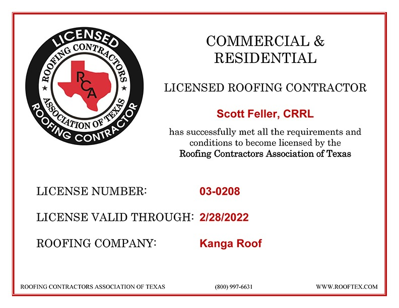 Scott Feller - RCAT License
