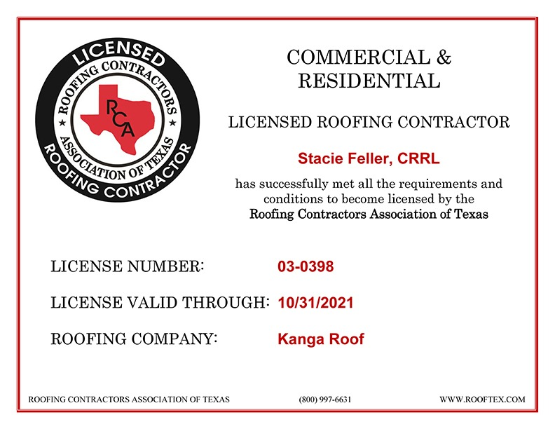 Stacie Feller - RCAT License